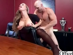 (Nicole Aniston) Slut Girl With Big Tits Love Hard Bang In Office movie-21