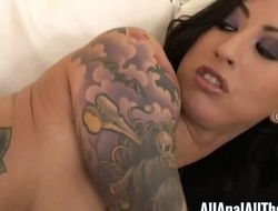 All Anal All The Time Tattooed Babe Lily Lane Gets Ass Fucked!
