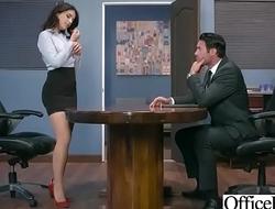 (Valentina Nappi) Office Girl With Round Big Soul Enjoy Hard Sex movie-30