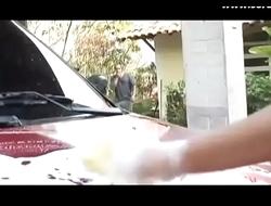 Luana Alves dando a bucetinha em cima do carro - www.sorabudas.com