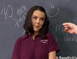 Hot Teenage Schoolgirl Dillion Harper Gets Her Beaver Slammed By Coach