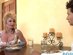 Busty wife cuckolds her husband with bbc