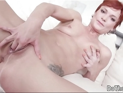 Wife takes big black locate up her ass for her husband