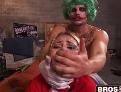 Cosplay Parody - The Joker Revving Up The Harley Quinn - Marsha May