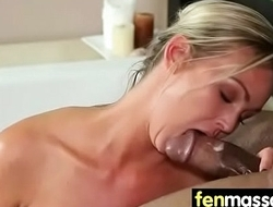 Gorgeous Babe'_s Nude Massage And Fuck 1