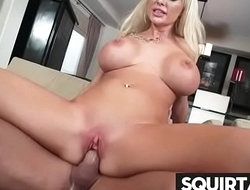 massive squirting and creampie female ejaculation 24
