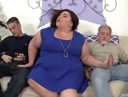 Fatty gets say no to fat ass double penetrated