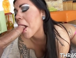Hardcore fucking after oral sex