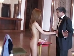 Teen Job Interview Turns into Intimate Inspection make an issue of Boss fucks her pussy