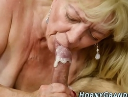 Grandma bottle mouthed