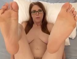 Feet Tease On Bed - JOI