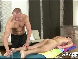 Stroking a lusty homo wang