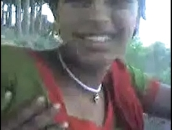 desi sangali Municipal Girl showing boobs to lover outdoor