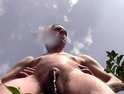 - SENSATIONAL DANGER - HUGE CUMSHOT AND HUGE PISS OUTDOOR IN PUBLIC GARDEN DURING THE PASSAGE OF PEOPLE, CARS, MOTORCYCLES AND TRAINS A FEW METERS!!! MATURE AMATEUR SOLO MALE HAIRY Unvarnished HARD COCK - THANKS FOR WATCHING, HELLO!